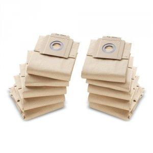 Billede af 10 papirfilterposer til T 7/1, T 10/1 Kärcher