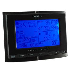 VENTUS W831 Vejrstation med vindmåler, regnmåler & PC-software, trådløs/radiostyret