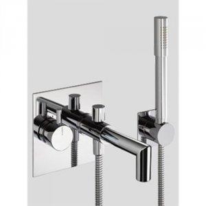 Kar-/brusearmatur med håndbruser Børma Geometri A6