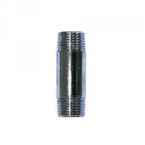 krom nippelrør 1/2-80mm messing Altech
